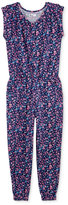 Epic Threads Floral-Print Jumpsuit, Big Girls (7-16), Only at Macy's