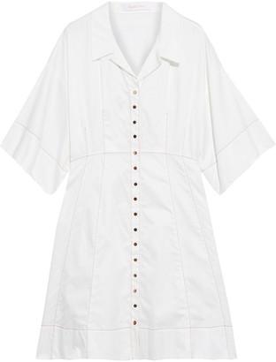 See by Chloe Cotton-poplin Shirt Dress