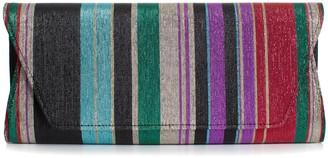 Trina Turk Party Stripe Clutch