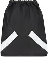 Neil Barrett Modernist Grained Leather Drawstring Backpack