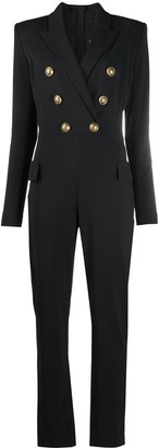 Balmain Double-Breasted Buttoned Jumpsuit