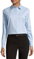 Liz Claiborne Long-Sleeve Wrinkle-Free Shirt