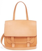 Mansur Gavriel Satchel Leather Shoulder Bag - Womens - Tan