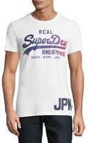 Superdry Large Ombre Logo Cotton T-Shirt