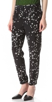 Tibi Starfish Pleated Pants