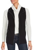 August Silk Solid Ribbed Vest