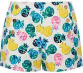 Draper James Printed Cotton-blend Shorts