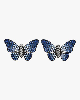 Ombre Butterfly Studs