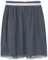 MANGO Girls Metallic Tulle Skirt
