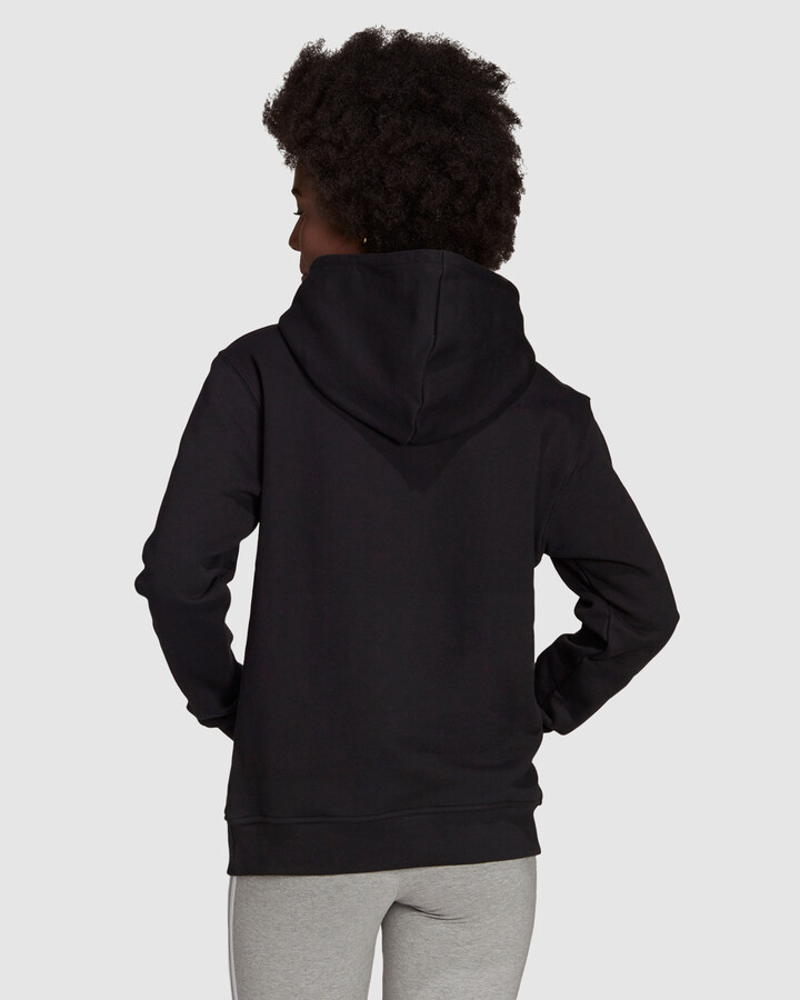 Thumbnail for your product : adidas Women's Black Hoodies - Adicolor Essentials Hoodie - Size One Size, 6 at The Iconic