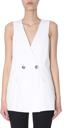 Givenchy Button-Front Blouse