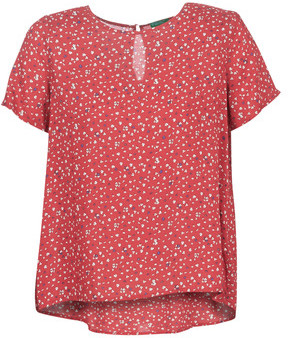 Benetton POLIFOU women's Blouse in Red