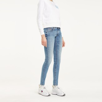 Tommy Hilfiger Faded Low Rise Skinny Fit Jean