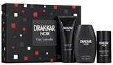 Guy Laroche Drakkar Noir by Men's Fragrance Gift Set - 3pc