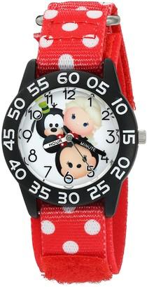 Disney Girl's 'Mickey Mouse' Quartz Plastic and Nylon Watch