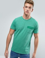 Esprit T-Shirt with Patch Pocket