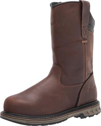 """Danner Men's Steel Yard Wellington 11"""" Construction Boot"""