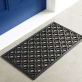 Rubber Overlapping Circles Doormat