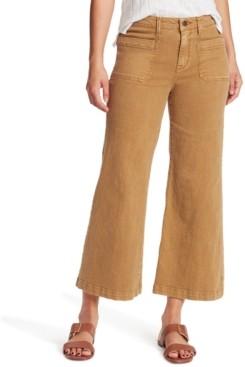 Sanctuary Wide-Leg Cropped Jeans