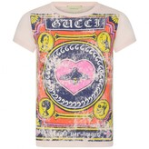 Gucci GUCCIGirls Pink Vintage Print Top