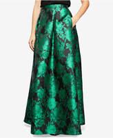 Alex Evenings Floral-Print Ballgown Skirt