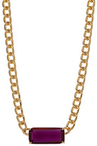 Carolee Stone Pendant Necklace