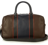 Paul Smith Shoes & Accessories Colour-block Leather Piped Holdall