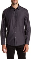 Robert Barakett Laval Herringbone Regular Fit Sport Shirt
