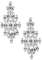 Carolee Marquee Cubic Zirconia Chandelier Statement Earrings