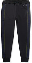 Paul Smith Slim-Fit Tapered Striped Tech-Jersey Sweatpants