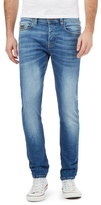 Voi Blue Mid Wash Skinny Fit Jeans