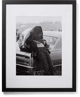 Sonic Editions Framed Altamont Concert Print, 17 X 21 - Black