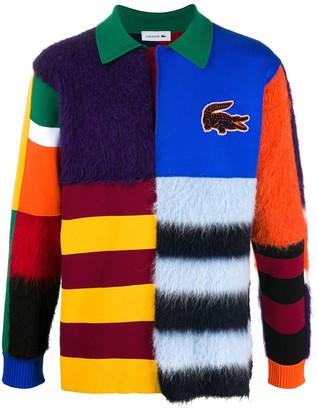 Lacoste Colour-Block Textured Unisex Polo Shirt