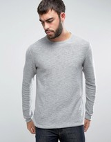 ONLY & SONS Knitted Sweater with Textured Roll Hem