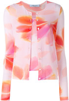 Blumarine floral print cardigan - women - Spandex/Elastane/Viscose - 40