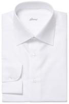 Brioni Cotton Solid Dress Shirt