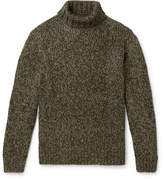 Camoshita Melange Knitted Rollneck Sweater