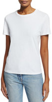 The Row Wesler Short-Sleeve Top, White