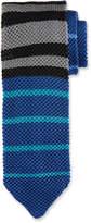 hook + ALBERT Horizontal Striped Knit Tie