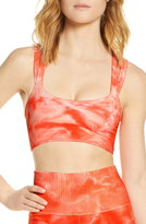 Free People Fp Movement On the Radar Tie Dye Sports Bra