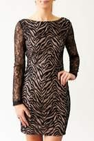 Nikibiki Zebra Lace Dress