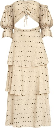 SIR the Label Camille Cut Out Gown