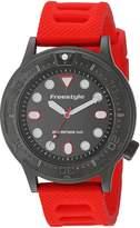Freestyle Men's 10024398 Dive Analog Display Japanese Quartz Red Watch