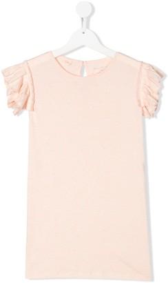 Stella McCartney TEEN ruffle sleeve tunic top