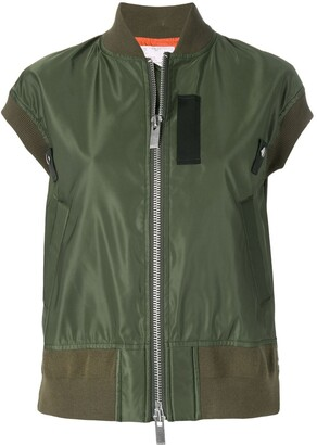 Sacai Shortsleeved Bomber Jacket