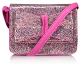George Glitter Bow Cross Body Bag