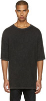 R 13 Black Oversized T-shirt