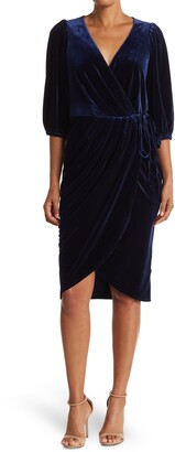 Lucy Paris Catarina Velvet Dress