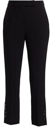 Max Mara Nerina Side-Button Pants