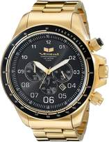Vestal Men's ZR3033 ZR3 Analog Display Quartz Gold Watch